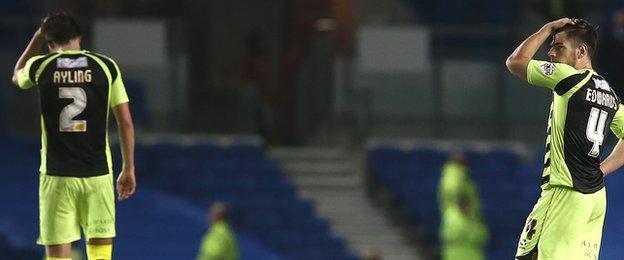 Yeovil suffered relegation in 2014