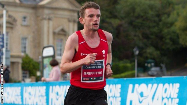 Dewi Griffiths finished 16th at the 2019 London Marathon