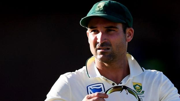 South Africa's Elgar withdraws from Test after head blow