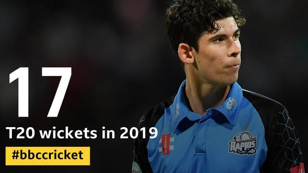 Pat Brown - has taken 17 T20 wickets in 2019