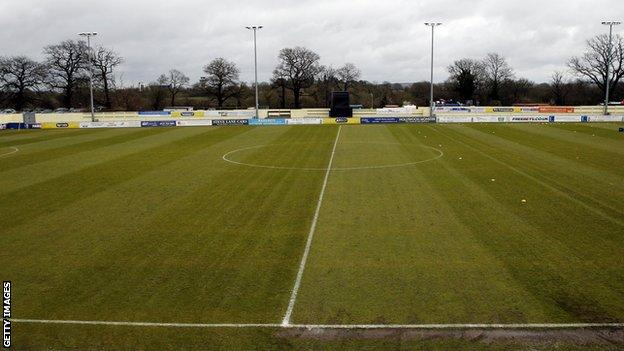 The surface at Damson Park