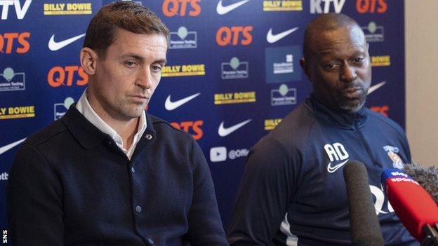 Head of football operations James Fowler and manager Alex Dyer have not been furloughed and will continue to work from home