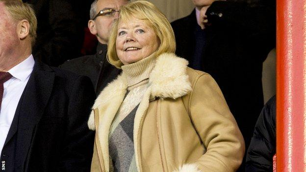 Ann Budge rescued Hearts from the threat of liquidation last year