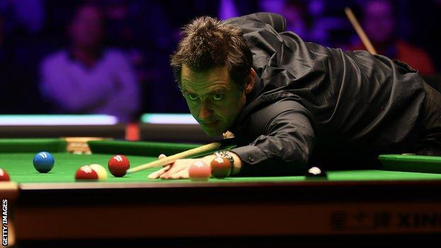 Ronnie O'Sullivan has won the world championship six times
