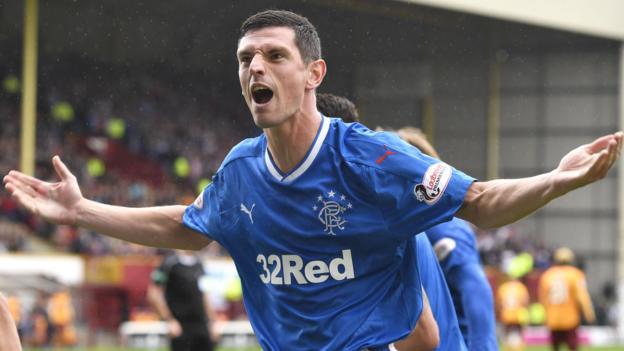 Motherwell 1-2 Rangers - BBC Sport 7cc3f1fe2