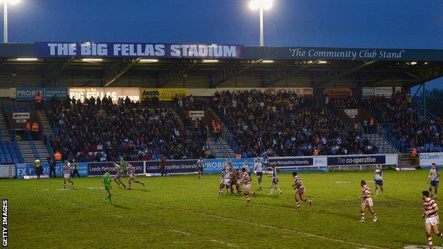 Big Fellas Stadium