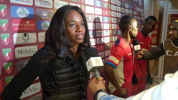 Sierra Leone Football Association President Isha Johansen