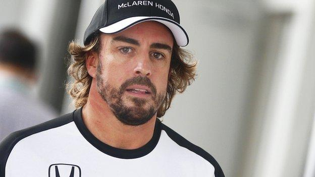Fernando Alonso What Now For Embarrassed Mclaren Driver