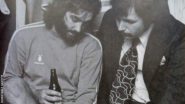 George Best and Barry Fry