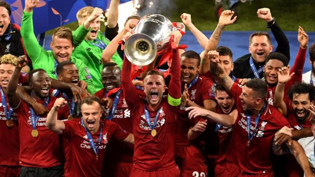 Liverpool beat Spurs 2-0 to win Champions League final in