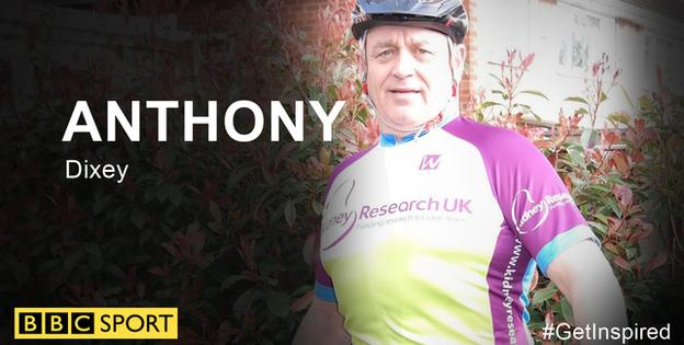 Anthony Dixey ready for RideLondon