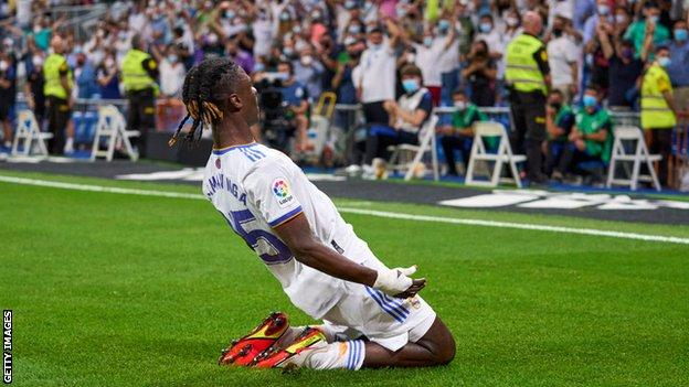 Eduardo Camavinga: Who is Real Madrid's £27m French wonderkid? - BBC Sport