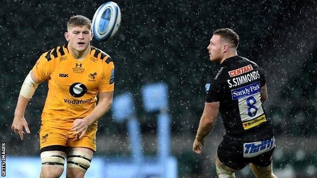 Jack Willis playing for Wasps