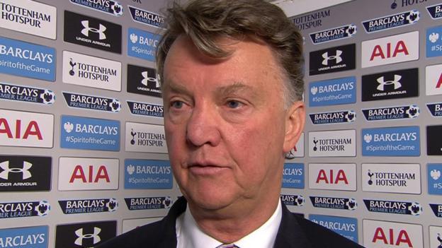 Tottenham 3-0 Man Utd: Van Gaal Blames 'miscommunication