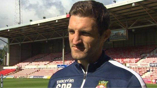 Sam Ricketts had been in charge at the Racecourse Ground since May 2018, winning 13 of his 23 games in charge