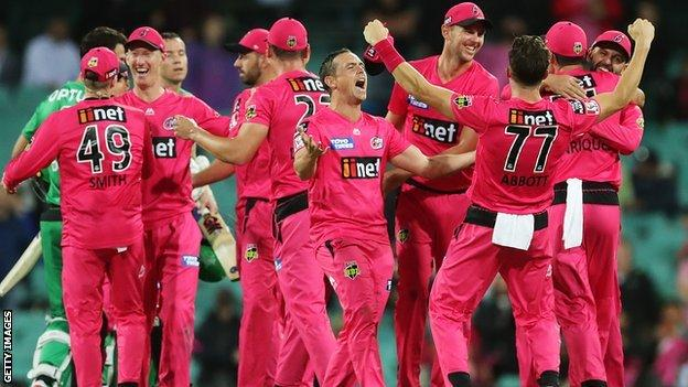 Sydney Sixers win the Big Bash