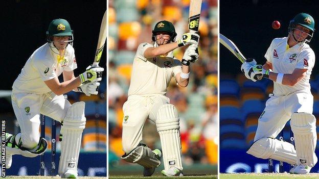 Collage of Australia captain Steve Smith