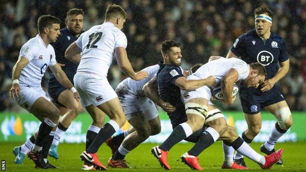Scotland have lost their opening two Six Nations matches in Finn Russell's absence