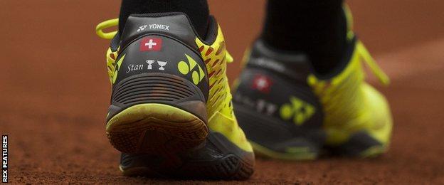 Stan Wawrinka shoes