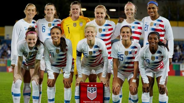 US women's national team take legal action over discrimination