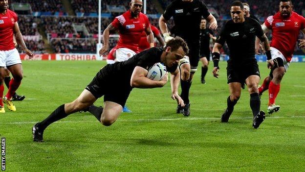 Ben Smith of New Zealand