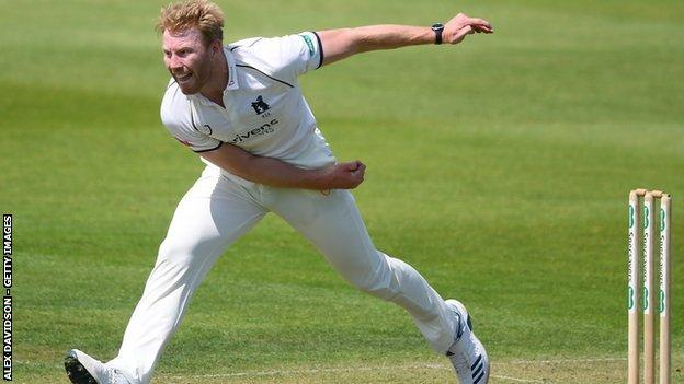 Liam Norwell has taken 14 Championship wickets in four matches for Warwickshire since his winter move from Gloucestershire