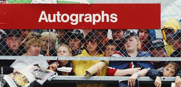 British Grand Prix fans 1998