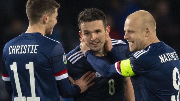 Scotland 3-1 Kazakhstan: Steve Clarke's men finish third in Euro 2020 group