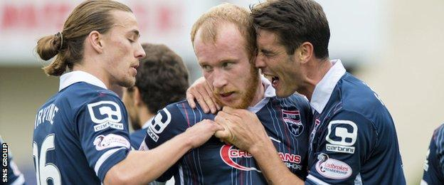 Liam Boyce is now on nine goals for the season