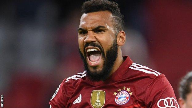 Eric Maxim Choupo-Moting in action for Bayern Munich