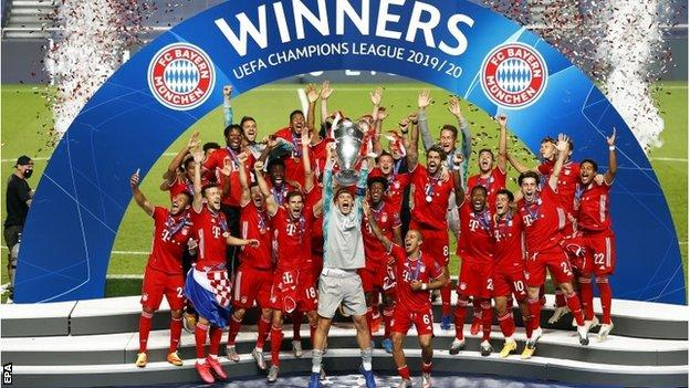 Paris St Germain 0 1 Bayern Munich German Side Win Champions League Final Bbc Sport