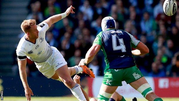 Luke Fitzgerald suffered a knee injury in Leinster's Pro12 final defeat by Connacht