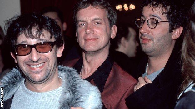 Ian Broudie, Frank Skinner, David Baddiel