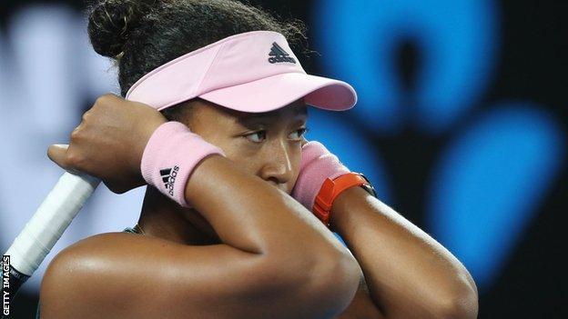 Naomi Osaka loses in Dubai