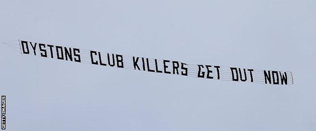 Blackpool banner