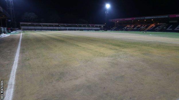 Rochdale pitch