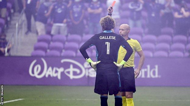 Orlando keeper Pedro Gallese