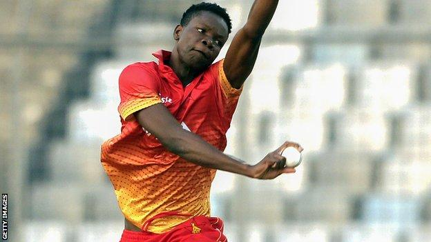 Blessing Muzarabani: Northamptonshire sign former Zimbabwe pace bowler