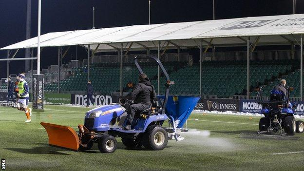 The 1872 Cup tie fell victim to a frozen artificial pitch last weekend