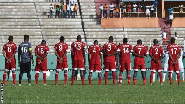 The Sudan team