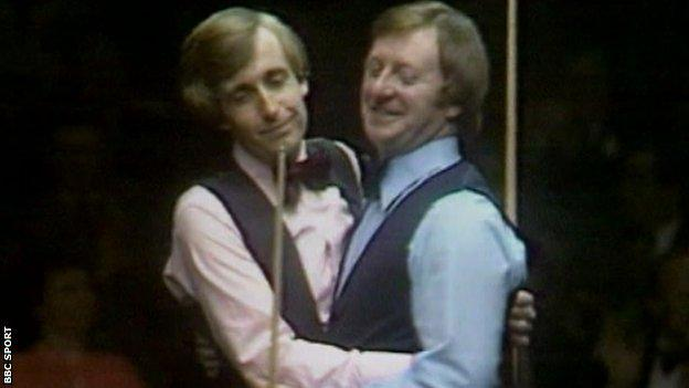 Terry Griffiths and Dennis Taylor