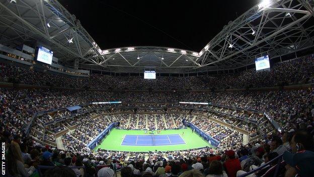 Arthur Ashe Stadium in New York