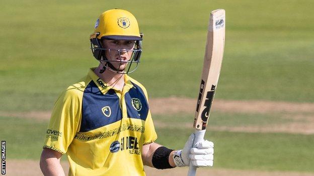 Adam Hose hit a first T20 century for Birmingham Bears