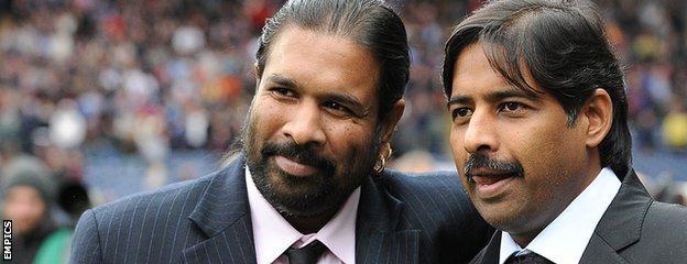 Balaji Rao (left) and Venkatesh Rao