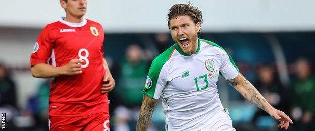 Hendrick's strike was Ireland's first goal since Aiden O'Brien scored against Poland in September 2018