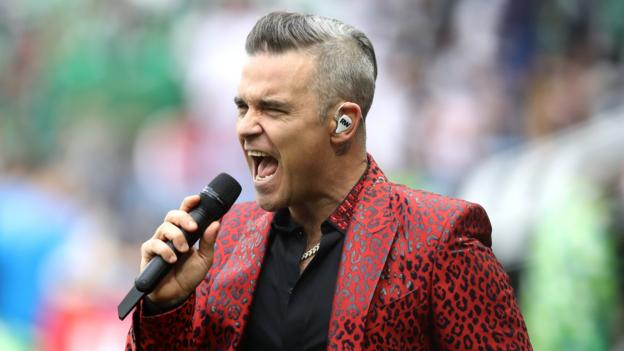 102028226 robbie williams getty - World Cup 2018: Ronaldo and Robbie Williams large title in opening ceremony