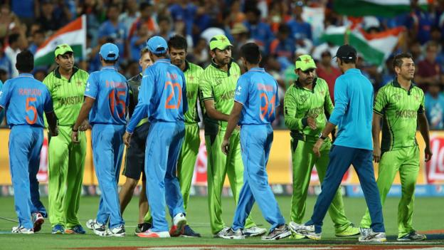 ICC says 'no indication' India v Pakistan World Cup match will not go ahead thumbnail