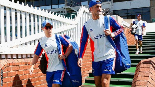 James Taylor (left) and Alex Hales