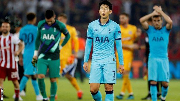 Champions League: Harry Kane says Tottenham are not learning from mistakes