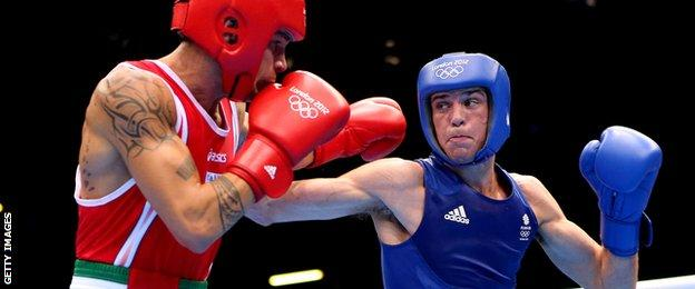 Josh Taylor fought at the London Olympics for Team GB